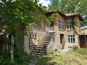 Very cheap Bulgarian house for sale with stone barn