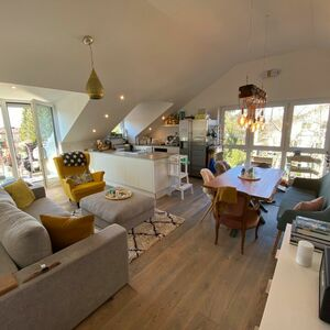 As good as new 3-room attic apartment EBK terrace limited
