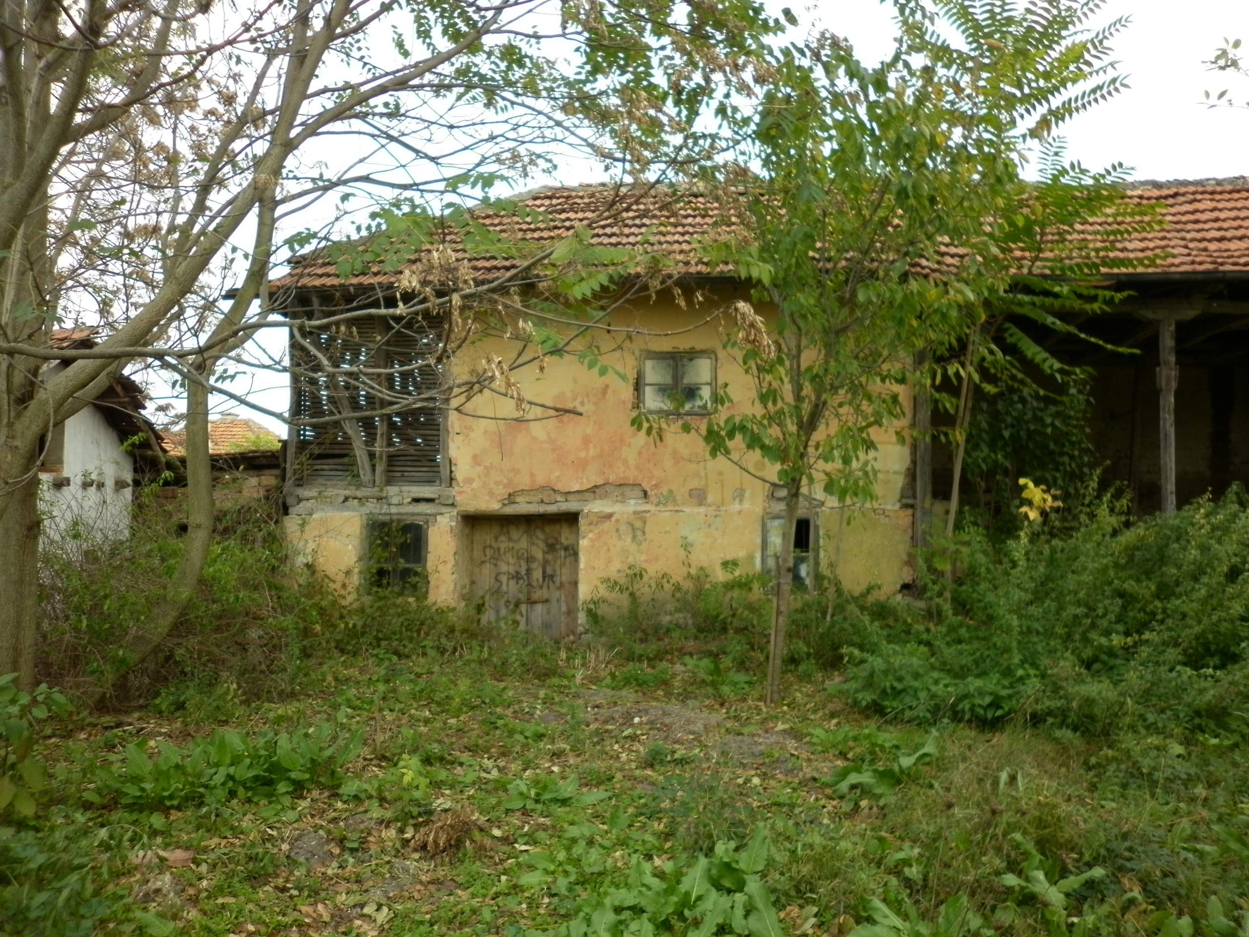 Solid Country House With Plot Of Land In A Quiet Village